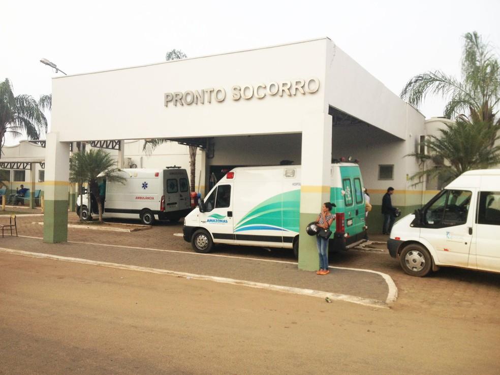 Vítima do primeiro caso de tentativa de homicídio foi encaminhada ao Hospital de Pronto Socorro João Paulo II — Foto: Toni Francis/G1