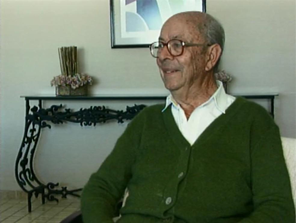 Ex-prefeito de Itajubá, Rosemburgo Romano morreu nesta sexta-feira (24) — Foto: Arquivo/EPTV
