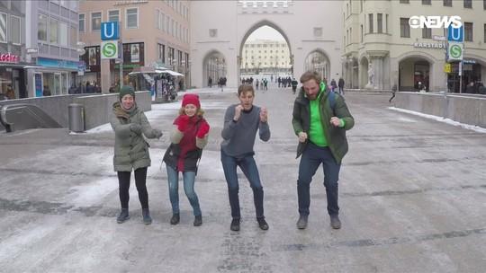 Youtuber convence mil desconhecidos a dançar com ele nas ruas