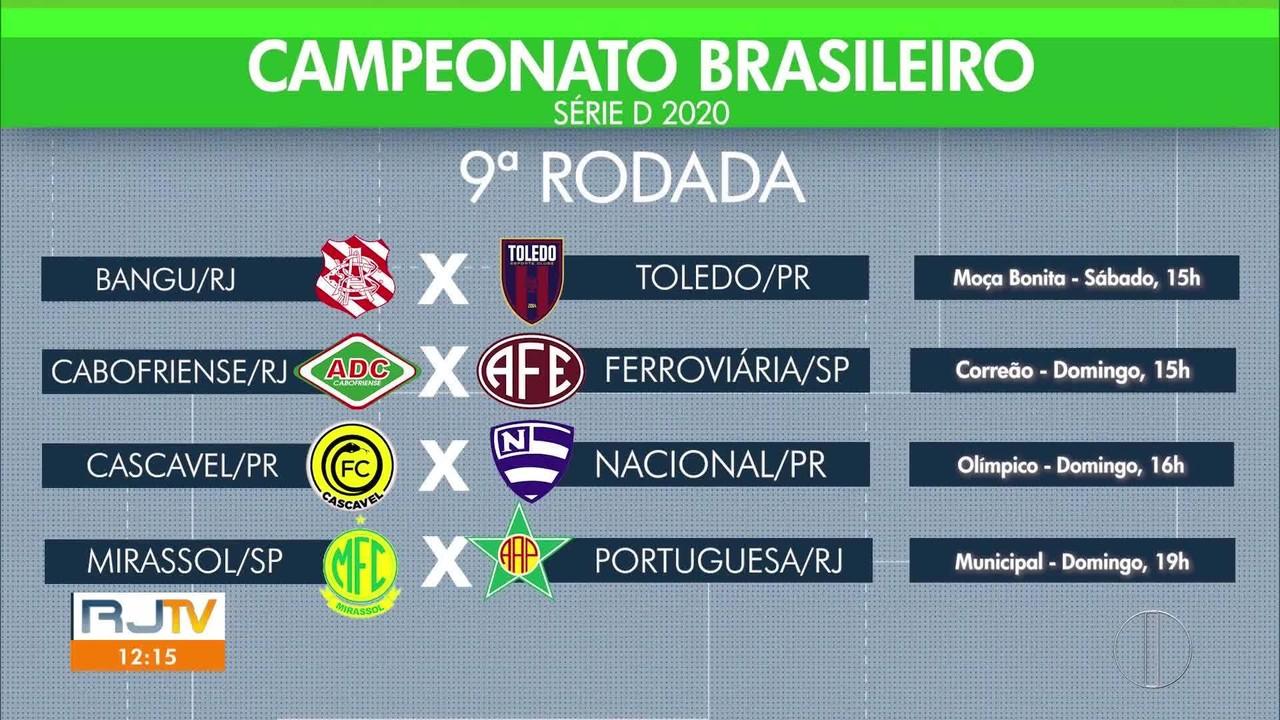 Confira os jogos da rodada da Série D do Brasileiro