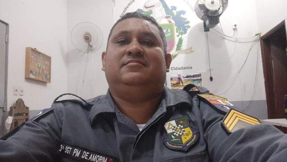 Sargento Ronaldo Henrique de Amorim Neves está solto e de licença para tratamento de saúde, de acordo com a PM — Foto: Divulgação