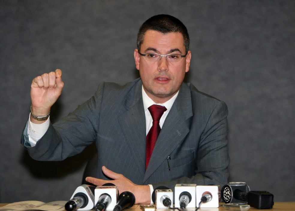 O novo diretor da Polícia Federal, Maurício Valeixo — Foto: Albari Rosa / Gazeta do Povo