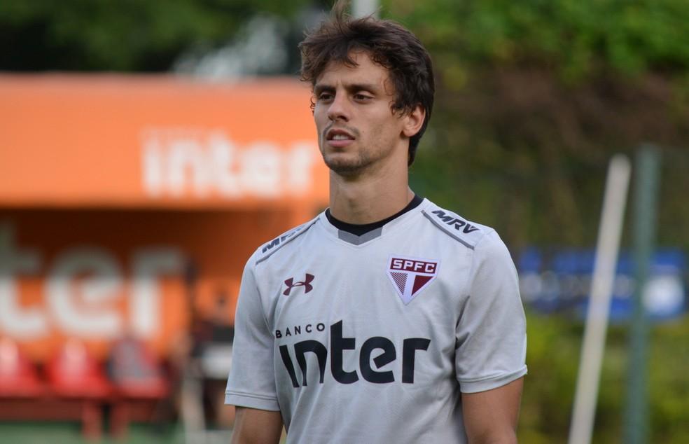 Rodrigo Caio deve ser preservado para clássico contra o Palmeiras (Foto:  Érico Leonan / saopaulofc.net )