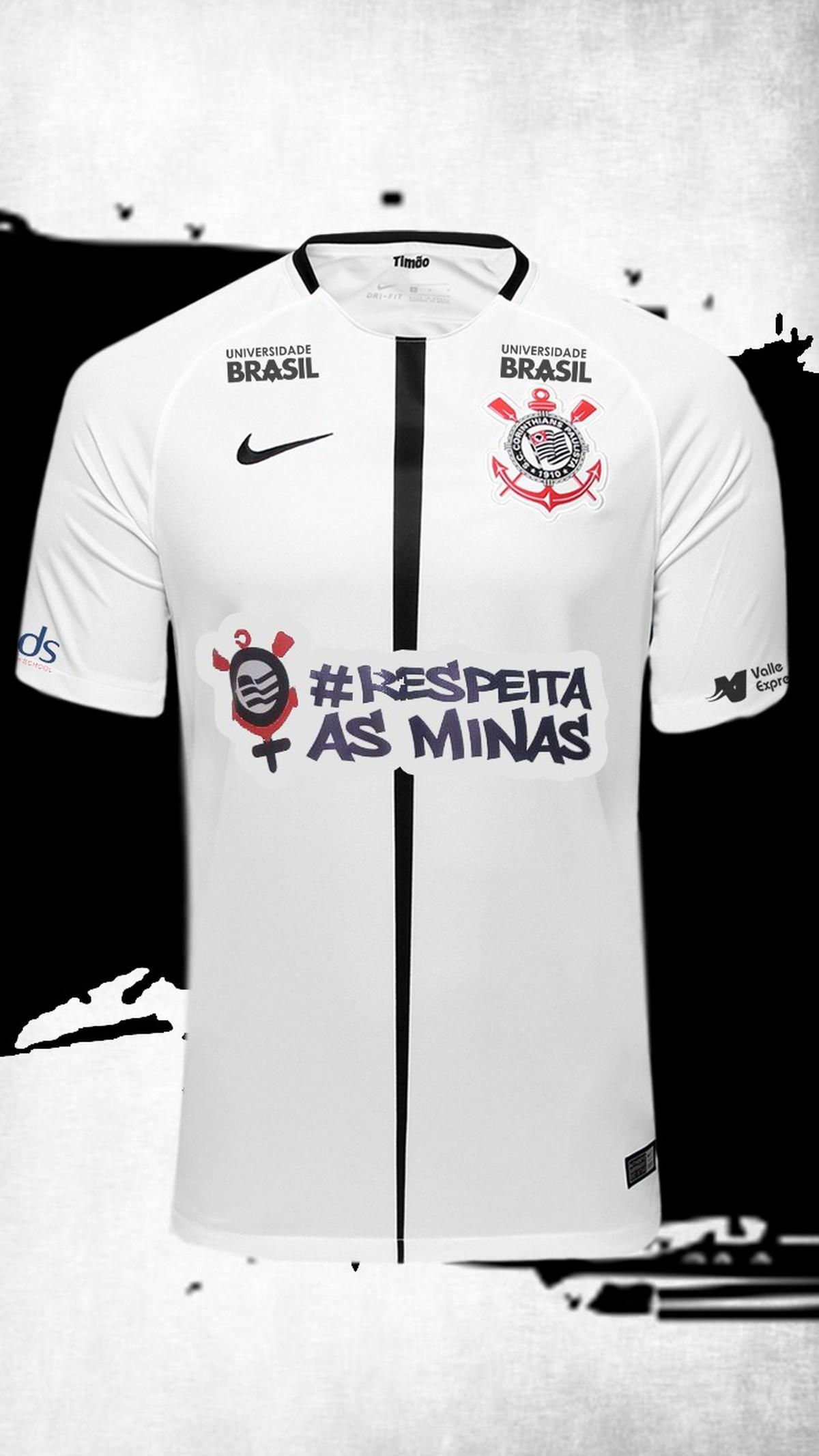 Corinthians faz ação pelo Dia da Mulher e estampará  RespeitaAsMinas na  camisa  1738bea07d723