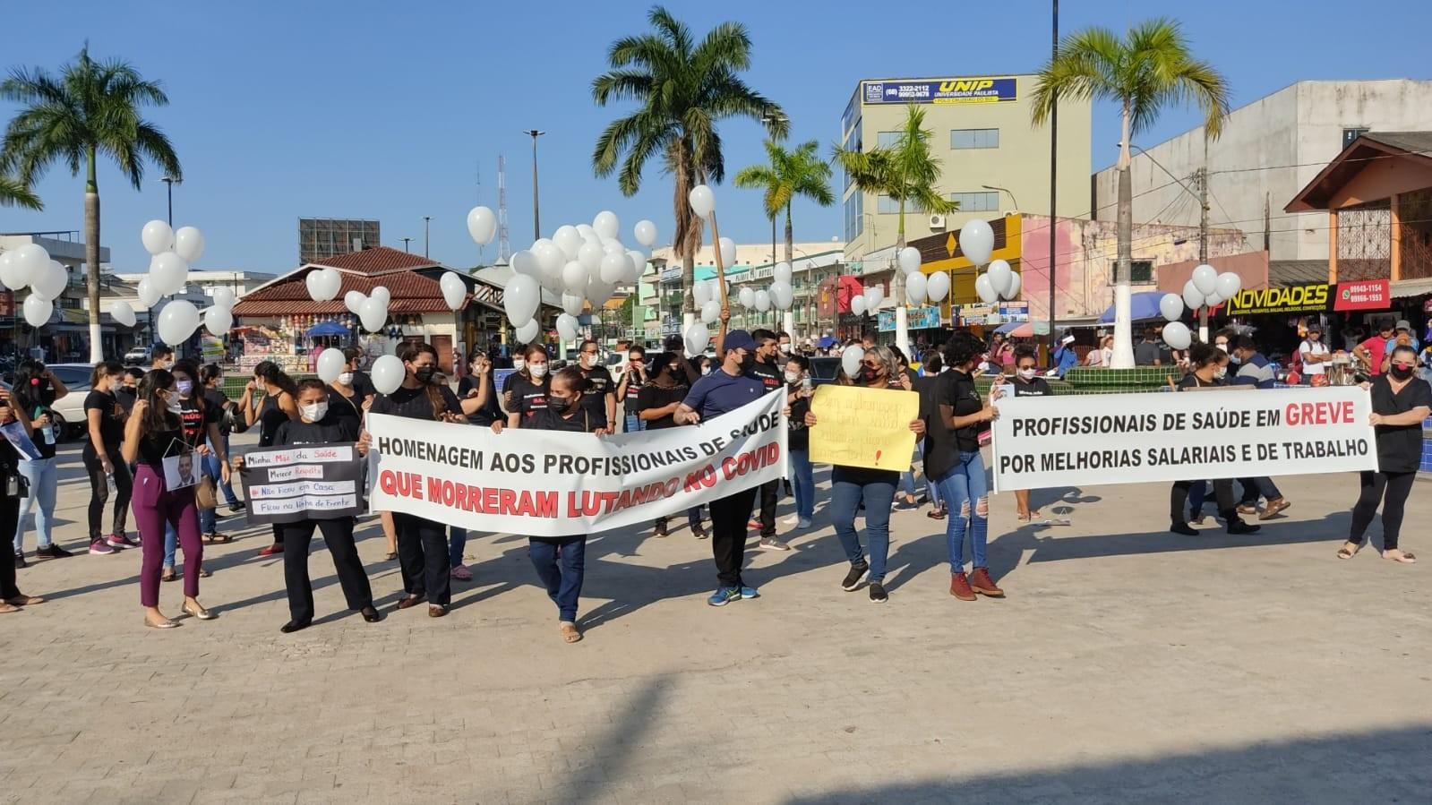 Após apresentar proposta, servidores da saúde de Cruzeiro do Sul suspendem greve por 5 dias úteis