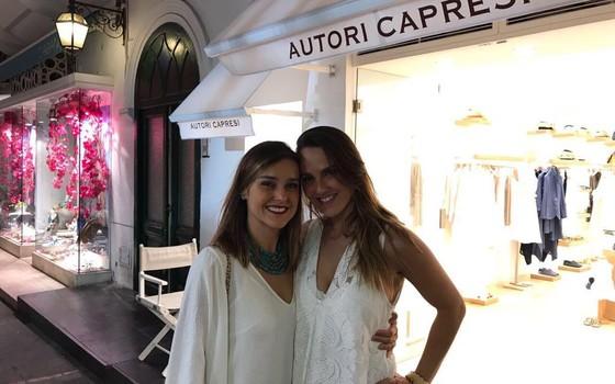 Rafaela e Marcela Groth assinam a renovação do bistrô (Foto: Divulgação)