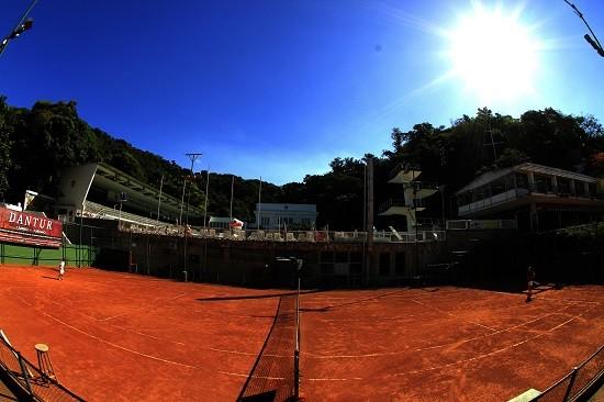 Quadra de tênis do Fluminense