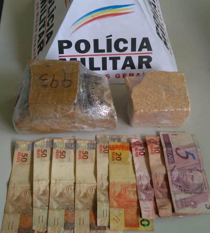 Jovem é detido com tabletes de maconha e cocaína em São João del Rei  - Notícias - Plantão Diário