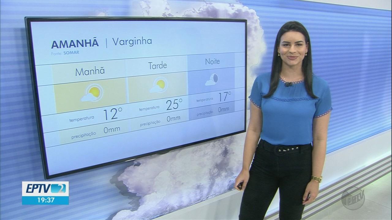 Confira a previsão do tempo para este domingo no Sul de Minas