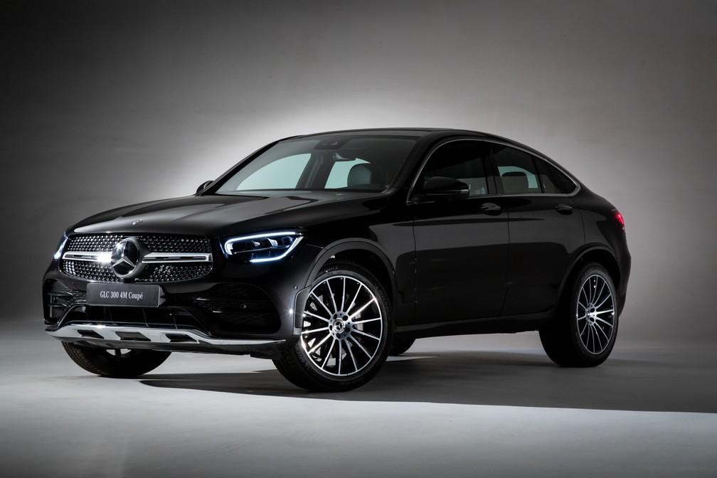 Mercedes-Benz GLC 300 Coupé — Foto: Divulgação