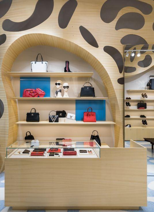 Pop-up da Vuitton em Campinas (Foto: Divulgação)