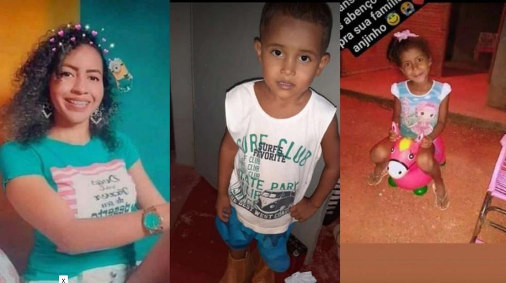 Mãe, filho e irmã morrem em acidente provocado por motorista embriagado sem CNH em Mato Grosso — Foto: Arquivo pessoal