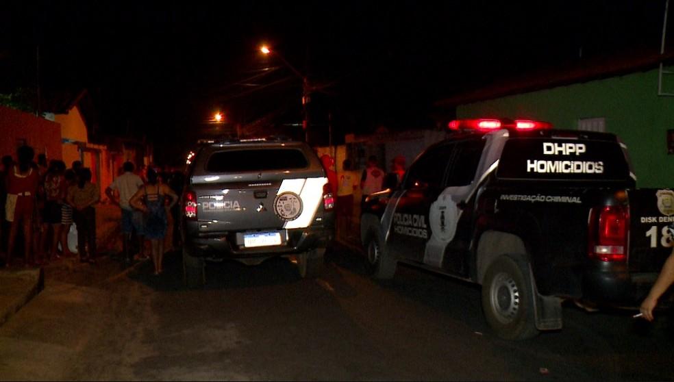 Jovem invade casa para matar homem e é desarmado e morto na Zona Sudeste de Teresina — Foto: TV Clube