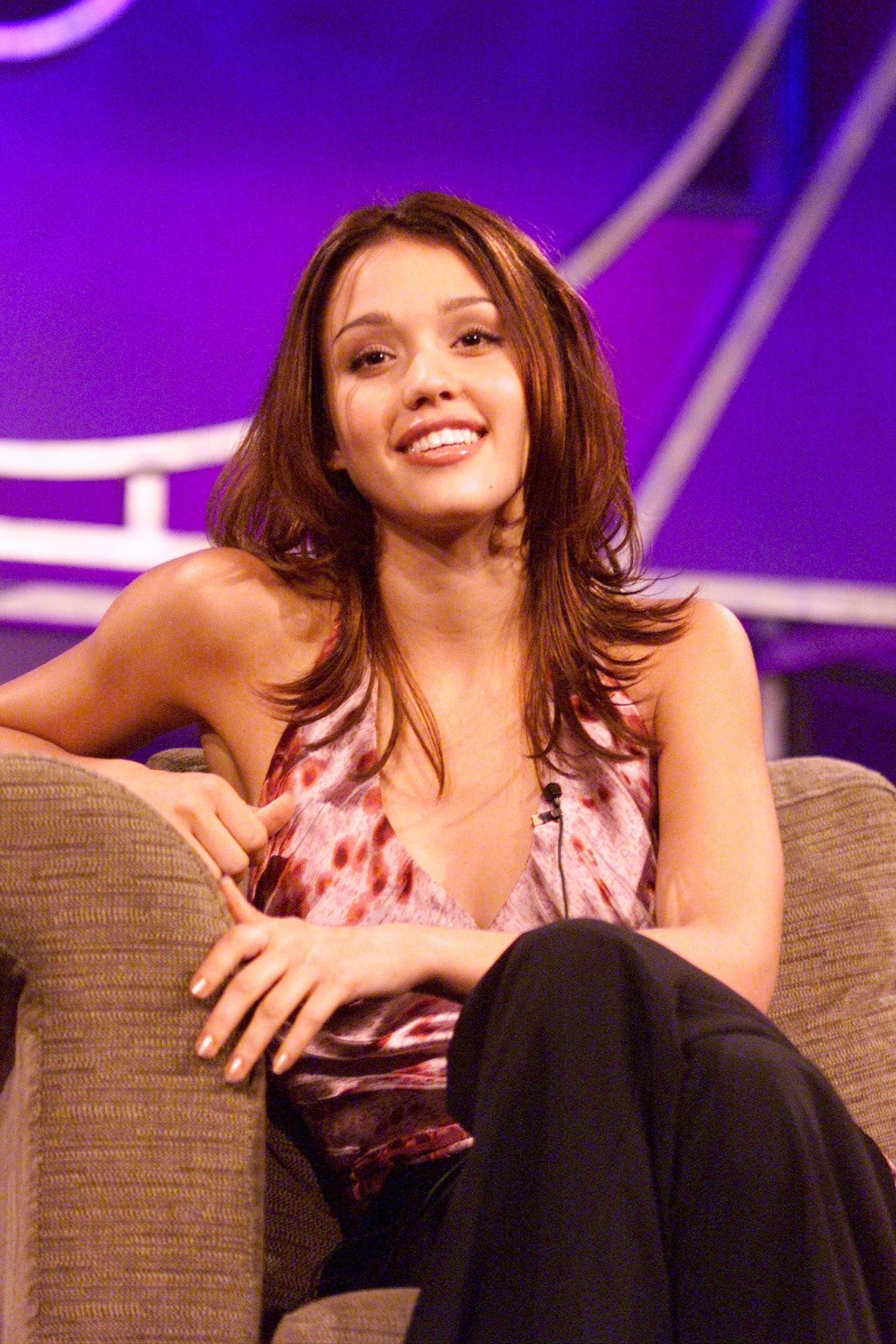 A atriz Jessica Alba em foto do ano 2000, quando tinha 19 anos (Foto: Getty Images)