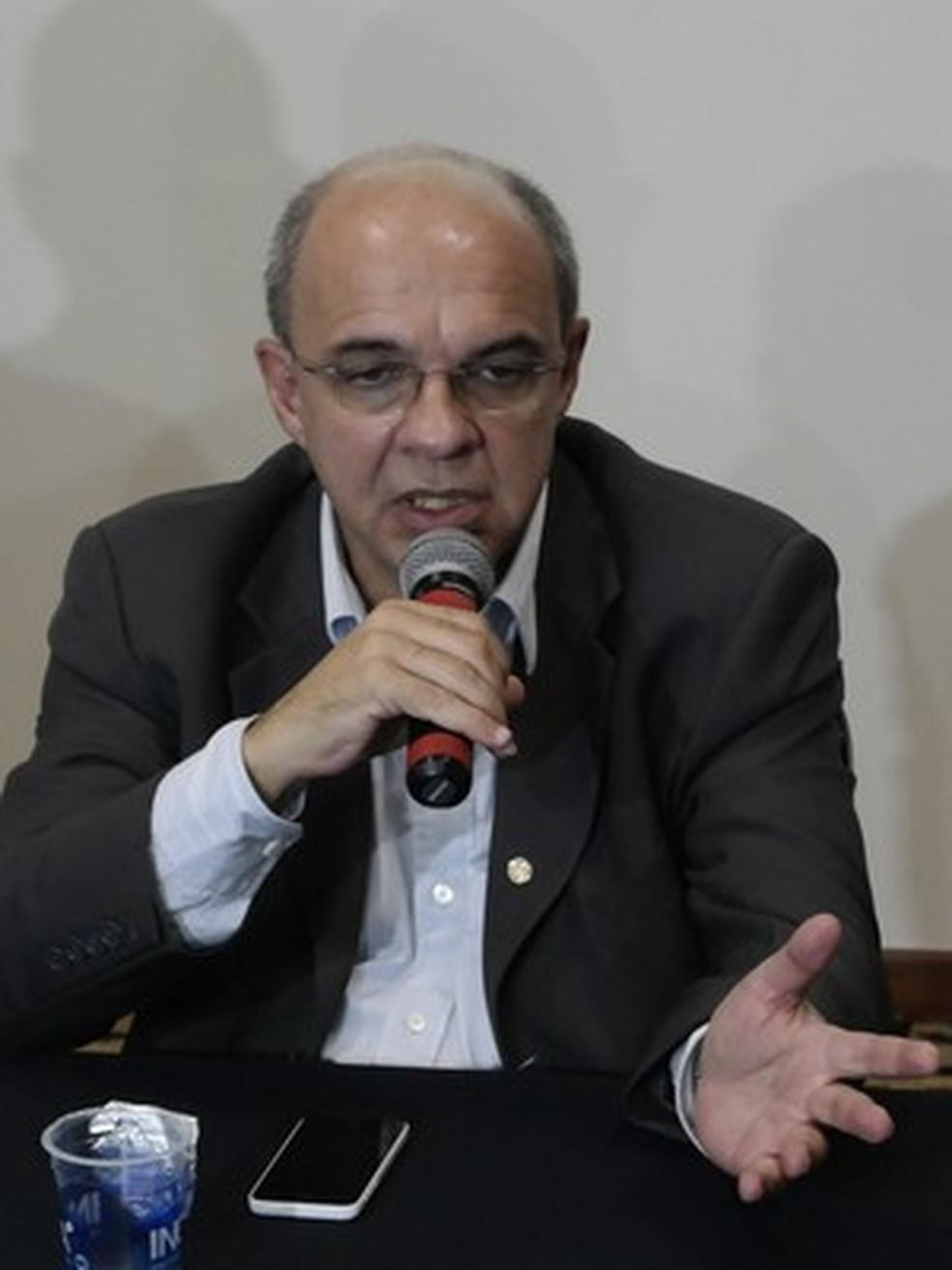 Eduardo Bandeira de Mello, ex-presidente do Flamengo  — Foto: Richard Pinheiro/GloboEsporte.com