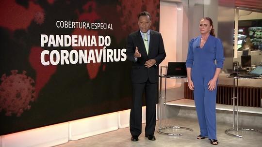 Cobertura da GloboNews (Foto: Reprodução)