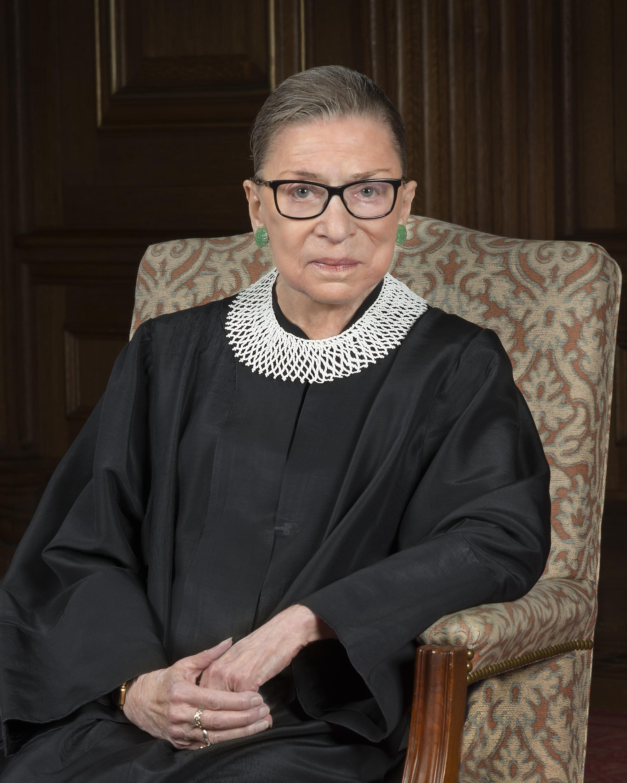 Ruth Bader Ginsburg (Foto: Wikimedia/Suprema Cortes dos EUA)