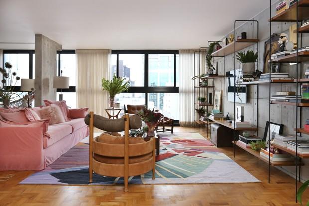 300 m² com cor e muita personalidade para um homem solteiro