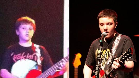 Daniel Henrique, roqueiro do 'The Voice Kids', começou cantando sertanejo
