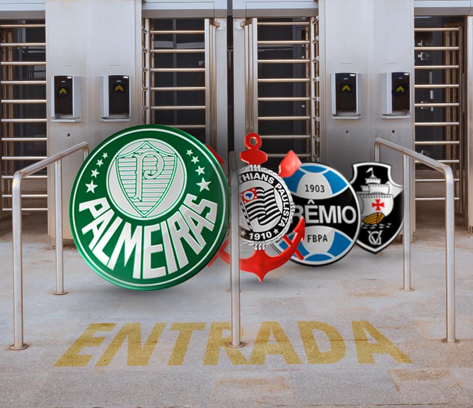 Palmeiras tem o preço médio de ingresso mais caro do país. Veja o ranking