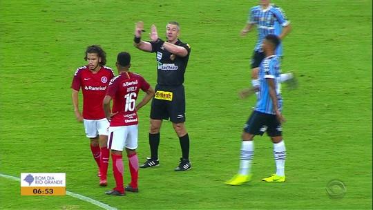 """Expulso no Gre-Nal, Nonato ganha apoio do grupo do Inter e até de rival:  """"Aprendizado"""""""