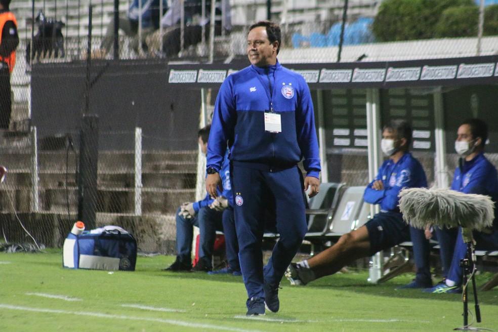 Dado Cavalcanti, técnico do Bahia — Foto: Rafael Machado/ Divulgação/ EC Bahia