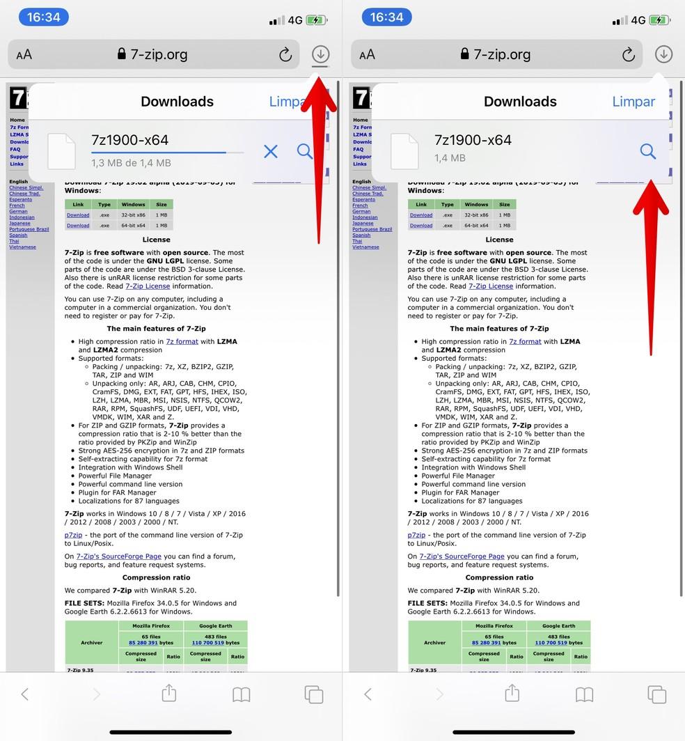 Como baixar arquivos no iPhone com o iOS 20   Sistemas ...