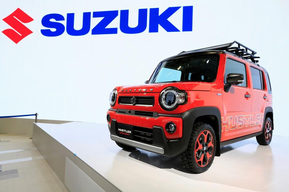 Suzuki Hustler Concept — Foto: Soe Zeya Tun/Reuters