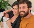 Titi Müller com o marido, Tomas, e o filho, Benjamin | Divulgação