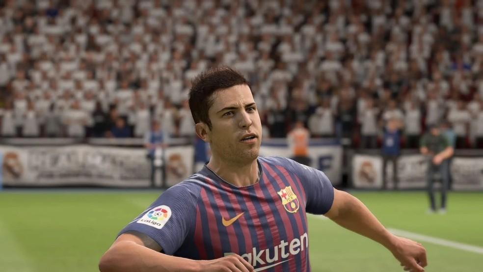 Jordi Alba é o lateral com maior overall no FIFA 20 — Foto: Reprodução/EA Sports