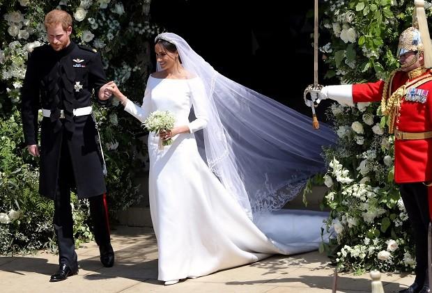 Vestido Meghan Markle (Foto: Getty Images)