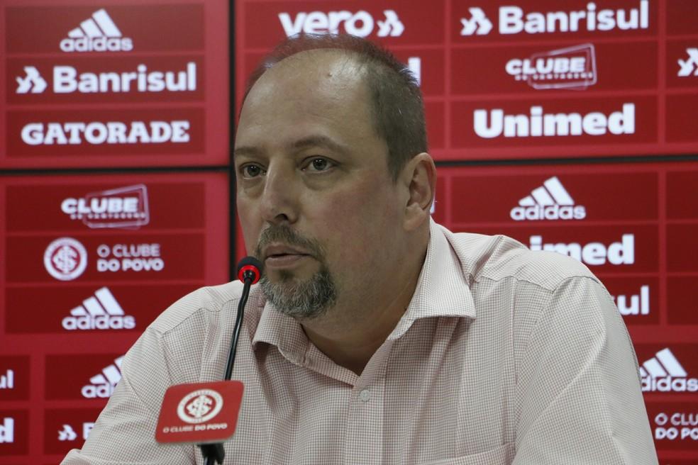 Alessandro Barcellos, vice de futebol Inter — Foto: Tomás Hammes/GloboEsporte.com