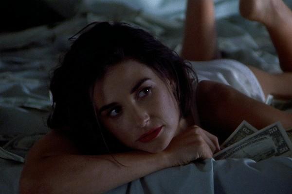 A atriz Demi Moore em cena do clássico Proposta Indecente (1993) (Foto: Reprodução)