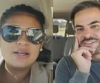 Simone e o marido, Kaká Diniz | Reprodução