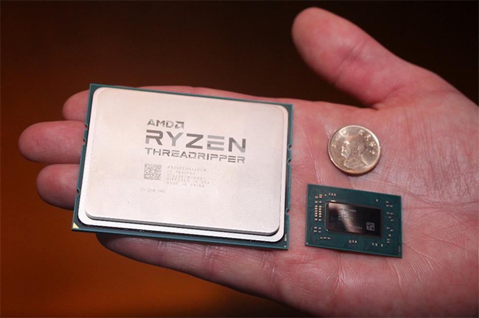 Threadripper é o super processador da AMD para bater os Core i9 da Intel (Foto: Divulgação/AMD)