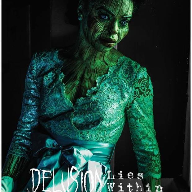 Cartaz da peça de teatro Delusion: Lies Wishin utilizando a Realidade Aumentada (Foto: Facebook / Delusion: Interactive Horror & Suspense Theatre)