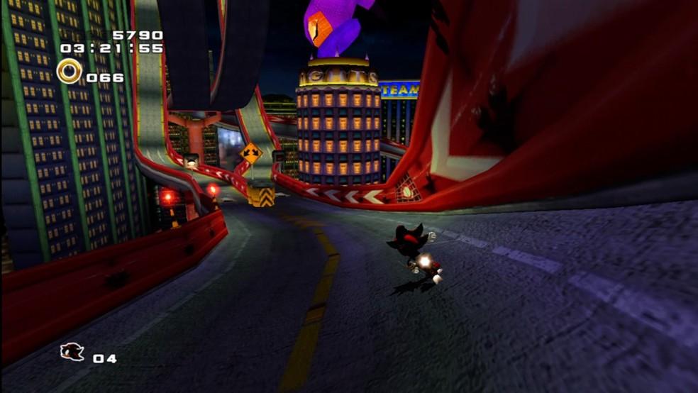 Sonic Adventure 2 foi marcado pela estreia de Shadow the Hedgehog na franquia — Foto: Reprodução/Steam