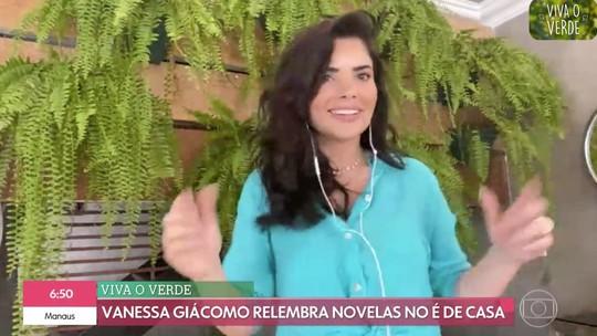 Vanessa Giácomo relembra teste para Cabocla e revela: 'Não sabia que era protagonista'