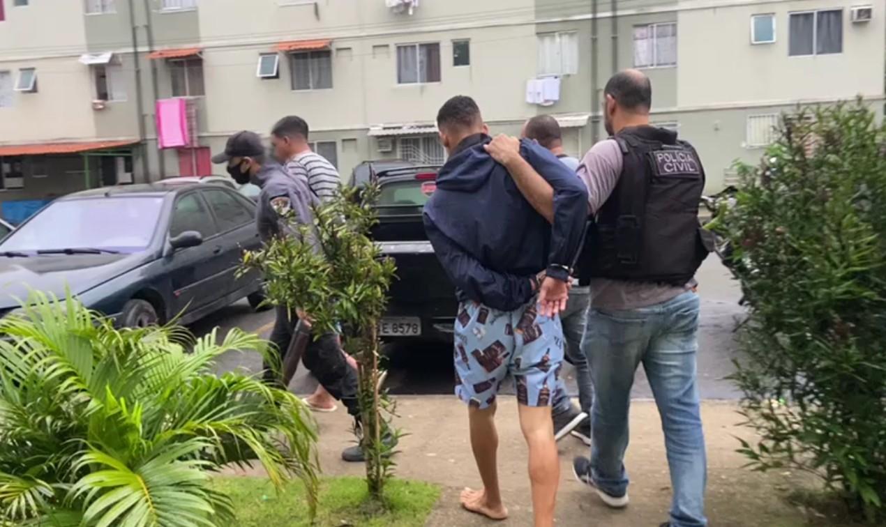 Três suspeitos de tráfico de drogas são presos em operação da Polícia Civil de Angra dos Reis