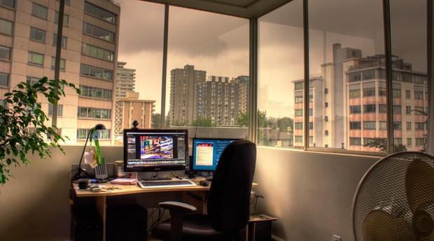 home office (Foto: Tyler Ingram)