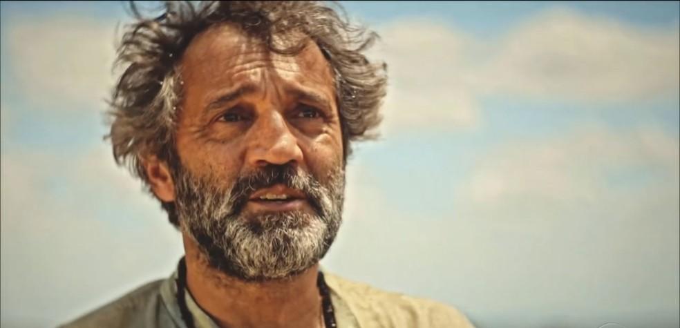 Última cena de Domingos Montagner — Foto: Reprodução/TV Globo/Arquivo