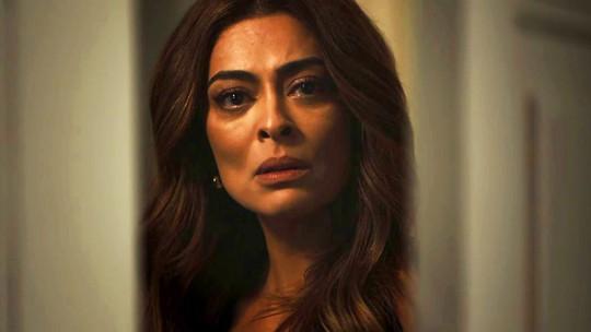 Juliana Paes comenta flagra em 'A Dona do Pedaço': 'Agora complicou para a Josiane'