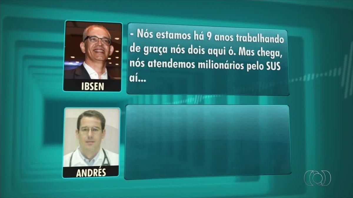 Gravações mostram médicos negociando procedimento em esquema de corrupção