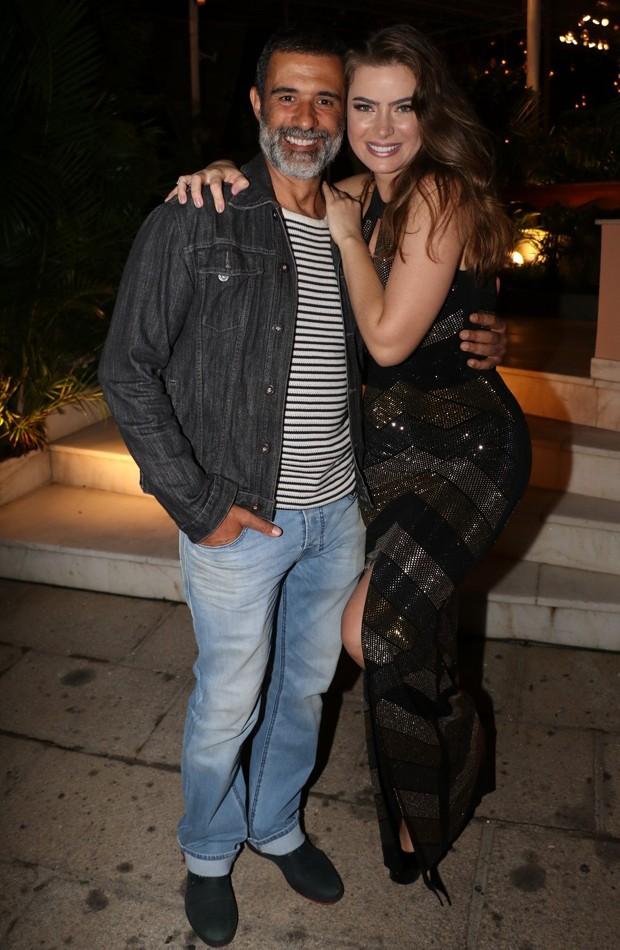 Marcos Pasquim e Rayanne Moraes (Foto: Rogerio Fidalgo/AgNews)