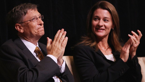 Bill e Melinda Gates (Foto: Getty Images)