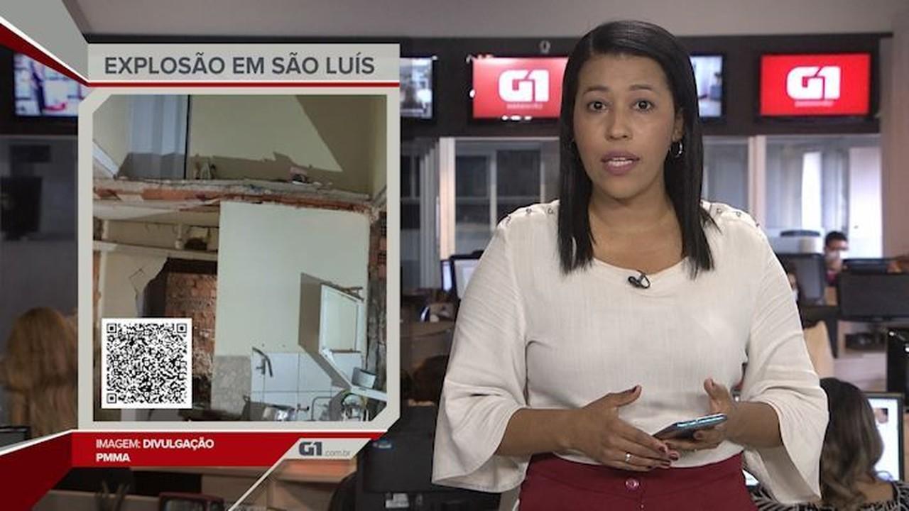 G1 em 1 Minuto: Botijão de gás explode e mata mulher em São Luís