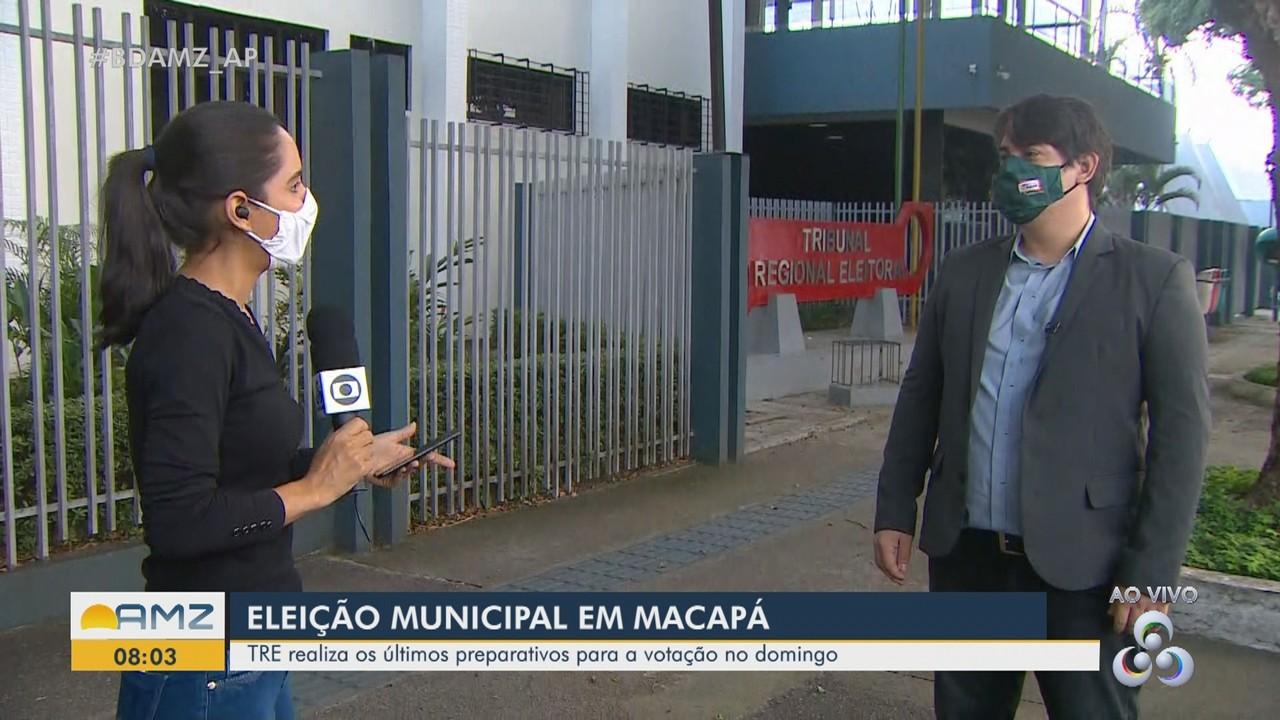 Justiça Eleitoral do AP prepara escolas para receber as urnas de votação