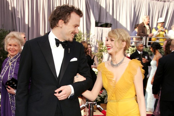 Michelle Williams e Heath Ledger (Foto: Getty Images)