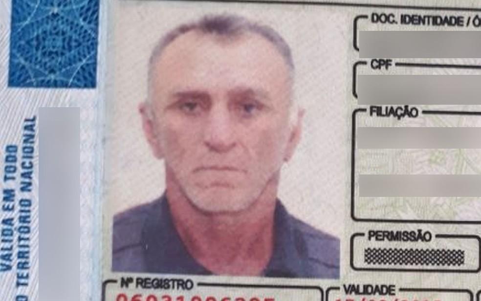 José Pereira Cabral, de 59 anos, foi morto a tiros (Foto: Lucas Torres/Portal Sorriso)
