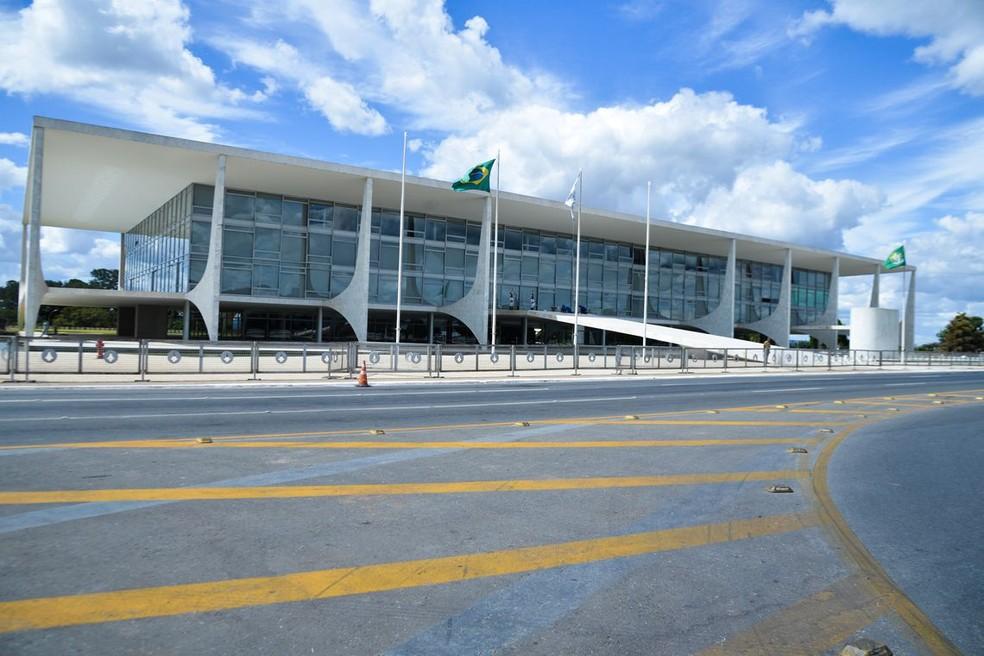 O Palácio do Planalto — Foto: José Cruz/Agência Brasil